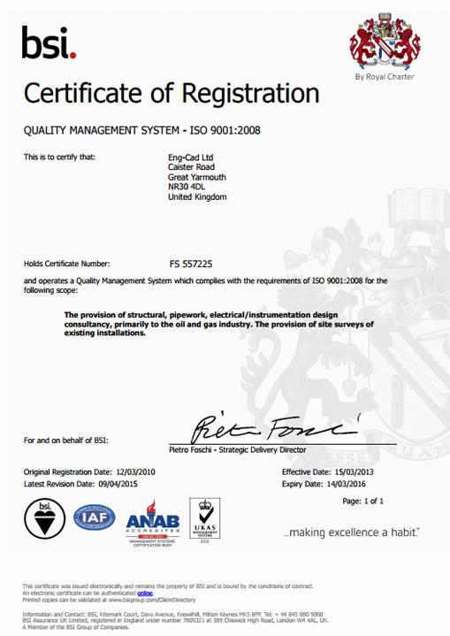certificate cad